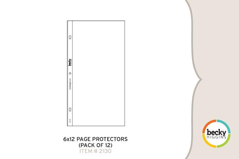 6x12 Page Protectors 2130