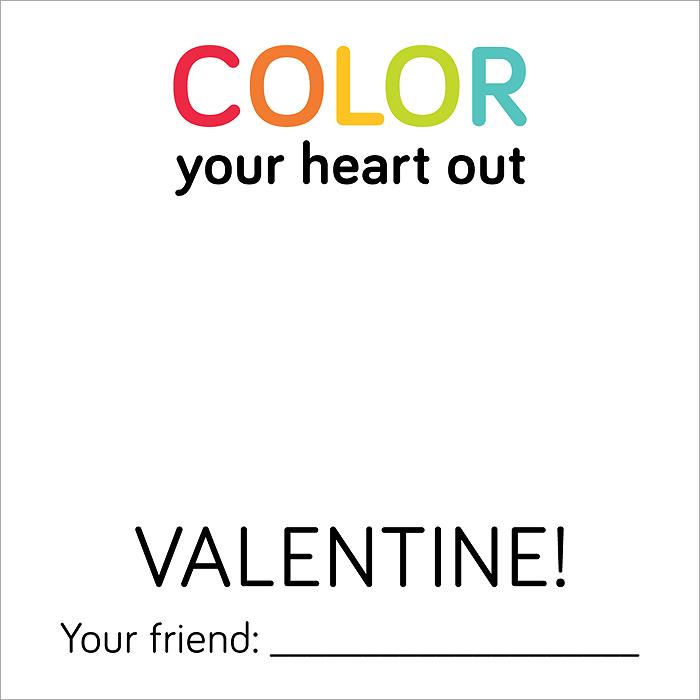 ColorYourHeartValentine